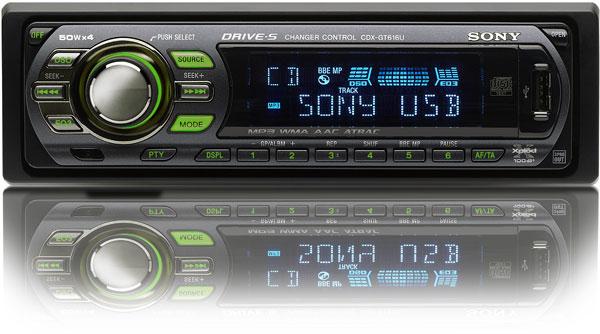 Automagnetola SONY CDX-GT616U.